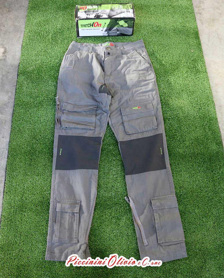strtch on pantaloni grigio 1