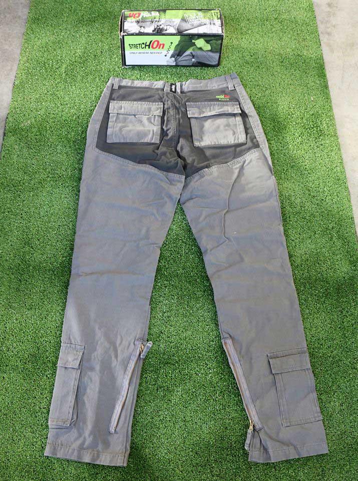 strtch on pantaloni grigio 2